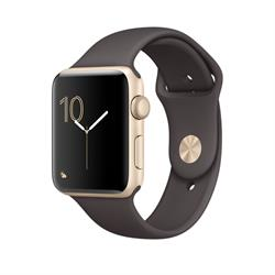 APPLE WATCH (SERIES 2) 42MM GOLD ALUMINUM CASE WITH COCOA SPORT BAND