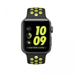 APPLE WATCH (SERIES 2) NIKE+ 42MM SPACE GRAY ALUMINUM CASE WITH BLACK/VOLT SPORT
