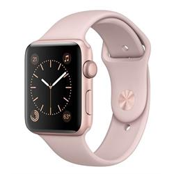 WATCH SERIES 3 (GPS) 42MM ROSE GOLD ALUMINUM CASE PINK SAND SPORT BAND
