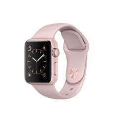WATCH SERIES 1 42MM ROSE GOLD ALUMINUM PINK SAND BAND